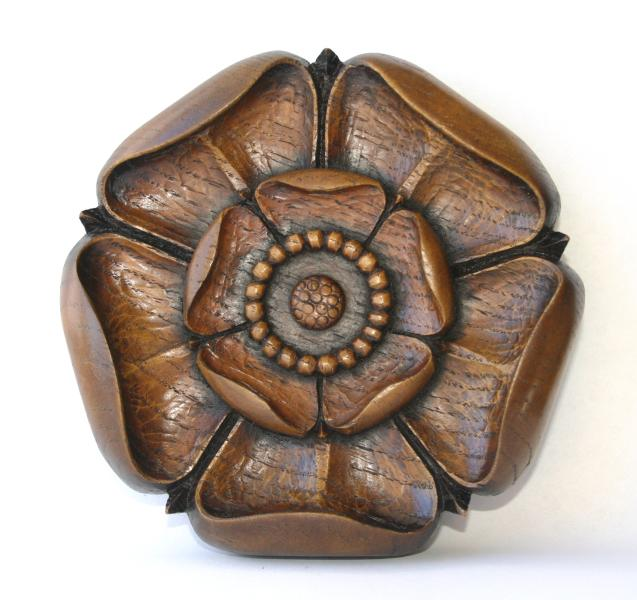 Yorkshire Rose Reproduction Carving Yorkshire Gift Ornament